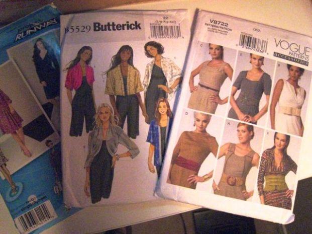 dress, jacket & belt patterns!