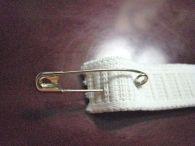very technical instrument for threading elastic thru casing