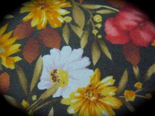 close-up, autumn tablecloth
