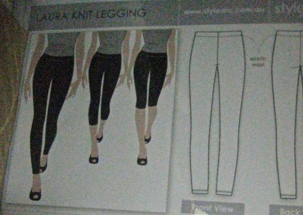 style arc's laura knit legging