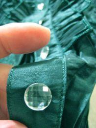 rhinestone buttons!
