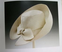 Halston started with hats - L-O-V-E- this one!