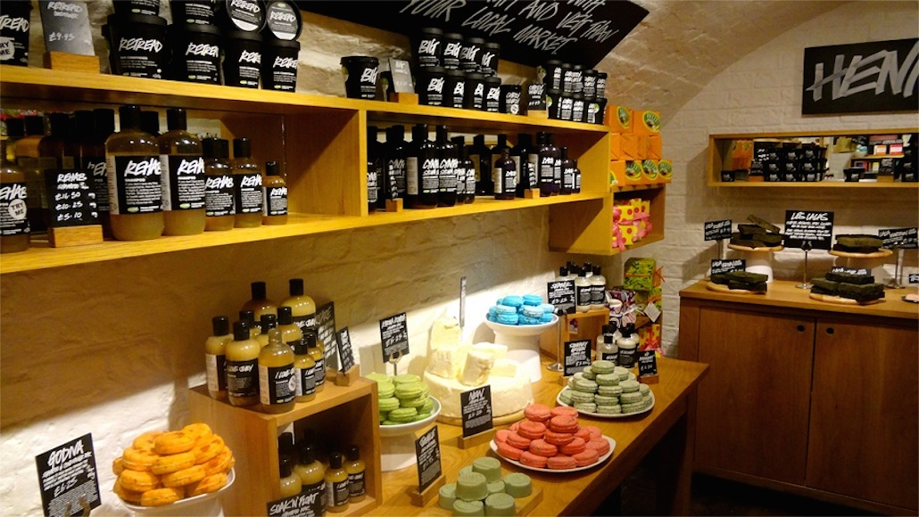 Lush Fresh Homemade Cosmetics