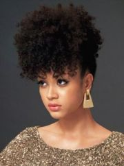 holiday natural hairstyles