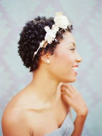 Fall Wedding Hairstyles For Short Natural Hair