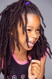hairstyles kids with locs
