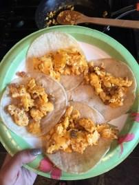 Prepared tacos