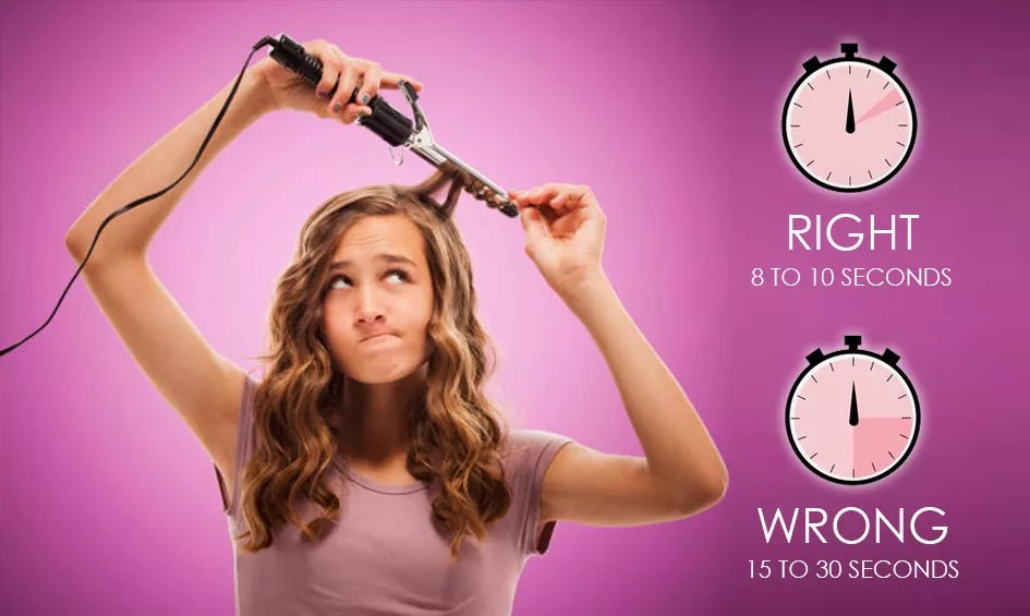 8 curling iron mistakes