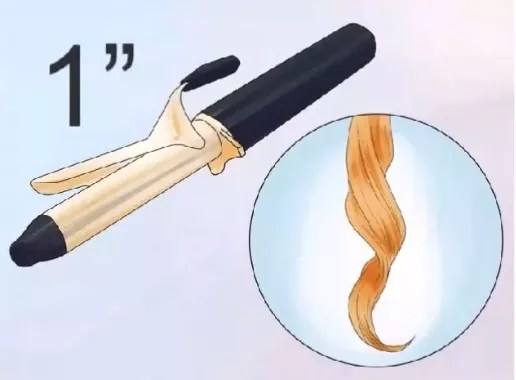 choose the right curling iron size