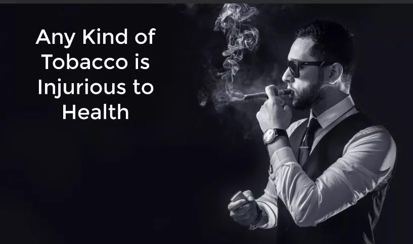 Avoid the habit of Smoking