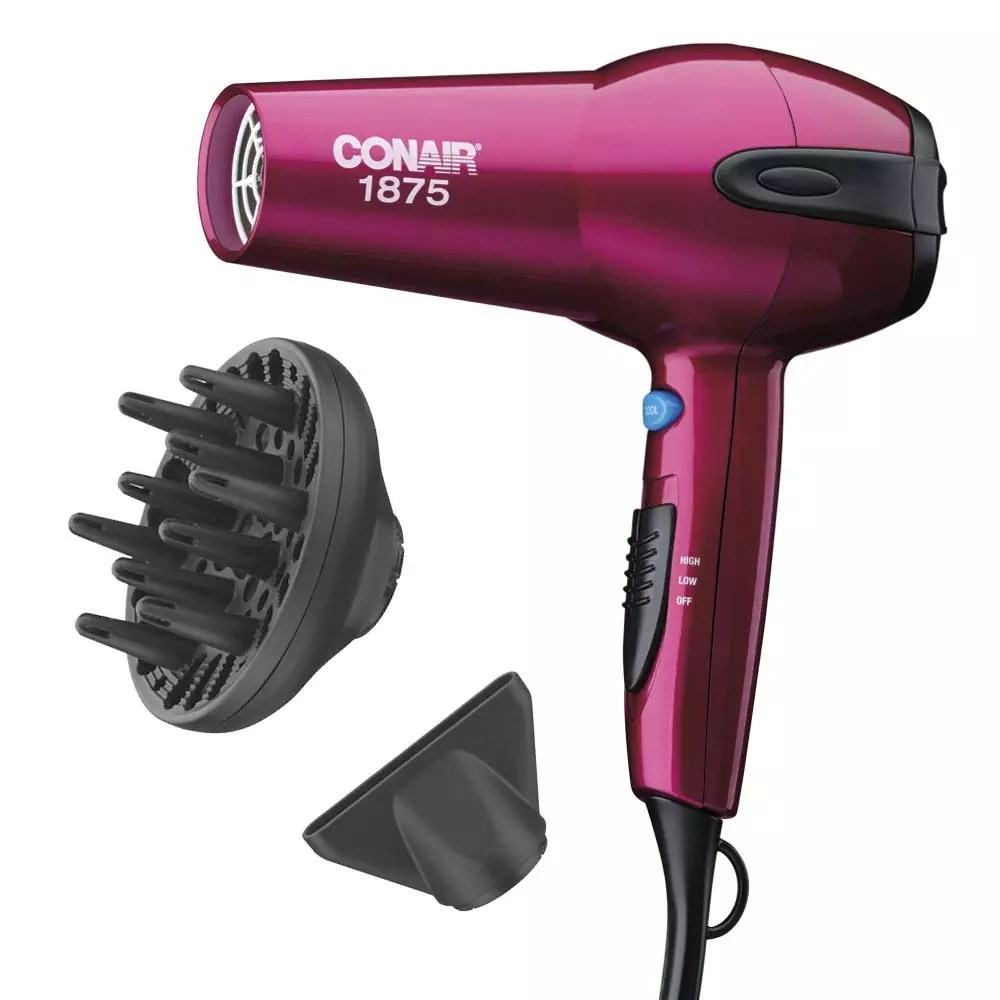 Conair 1875 Watt Ionic Ceramic Fast Drying Lightweight Hair Dryer