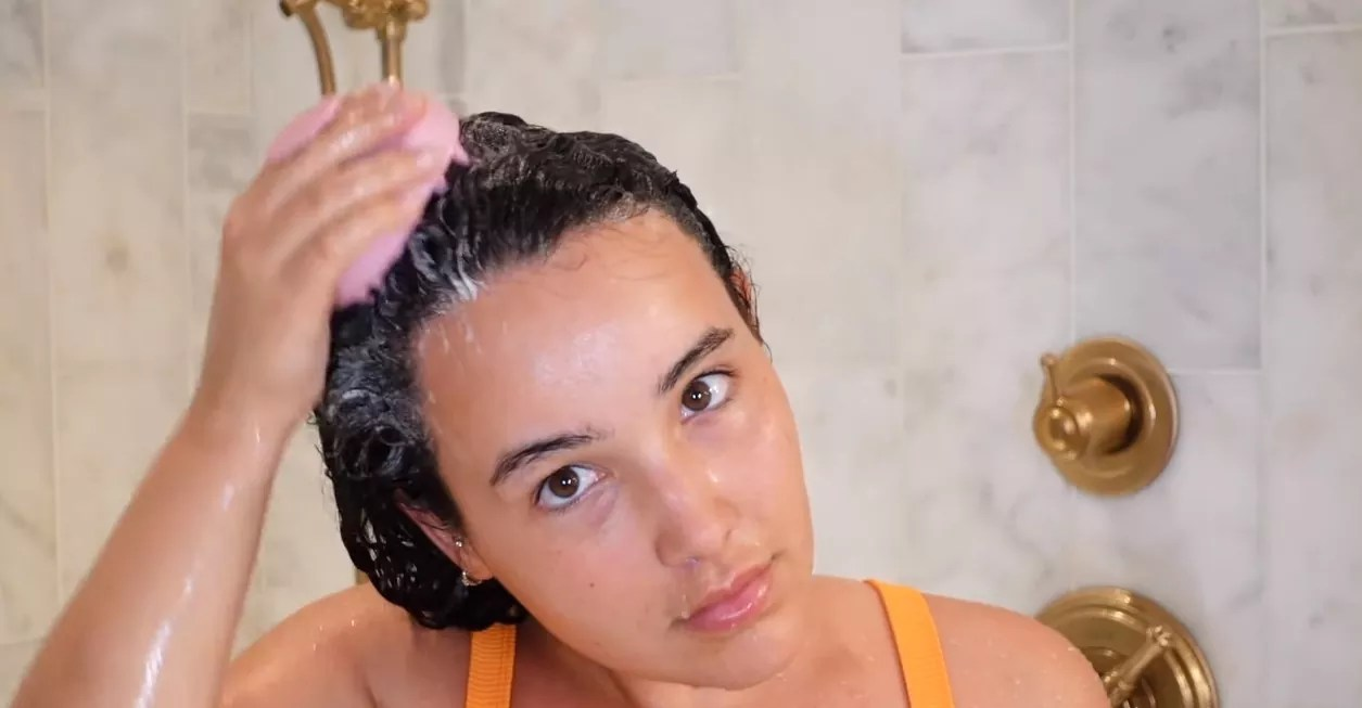 Start By Washing Your Hair
