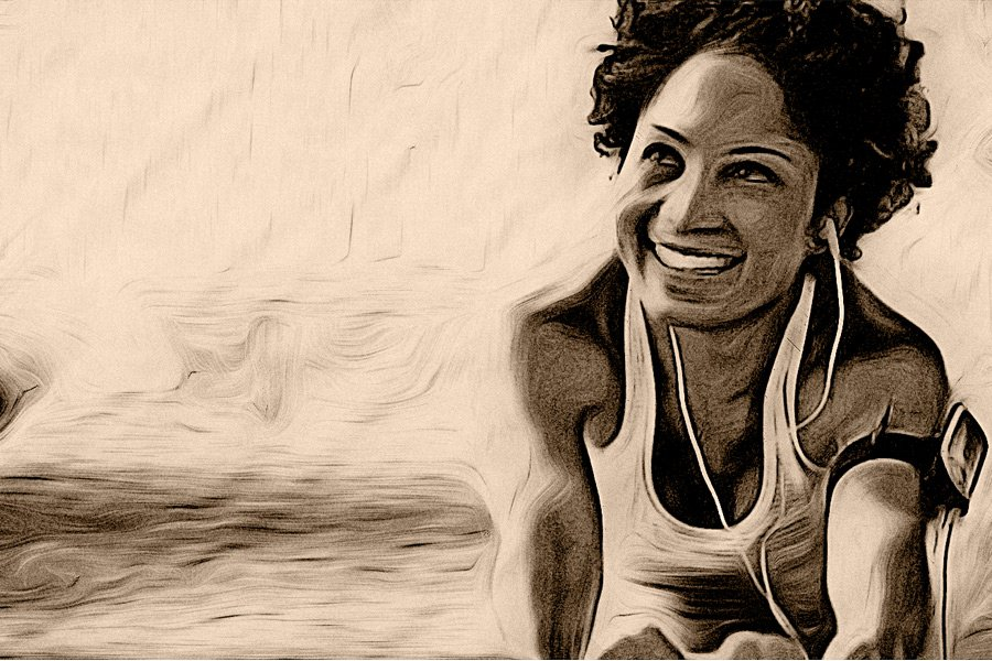 black Women's hair & the gym