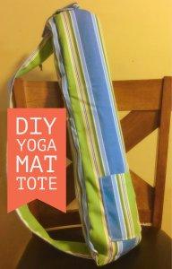 yoga mat tote bag