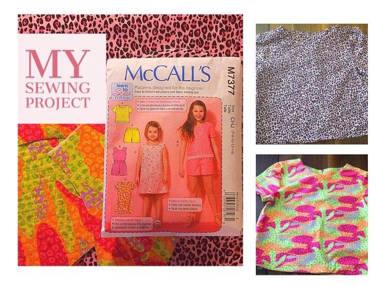sewing girls shirts