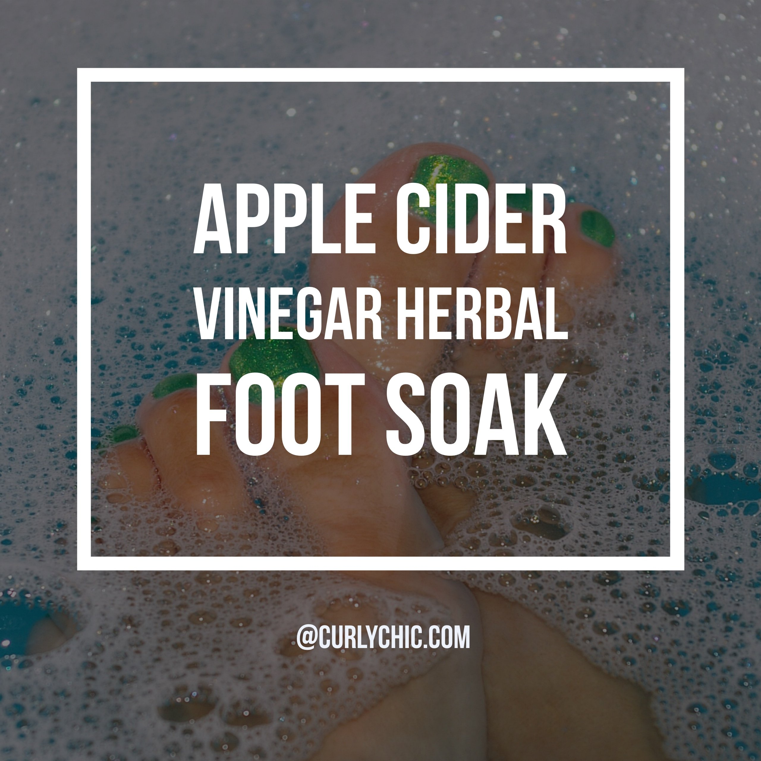 Vinegar Foot Soak Recipe