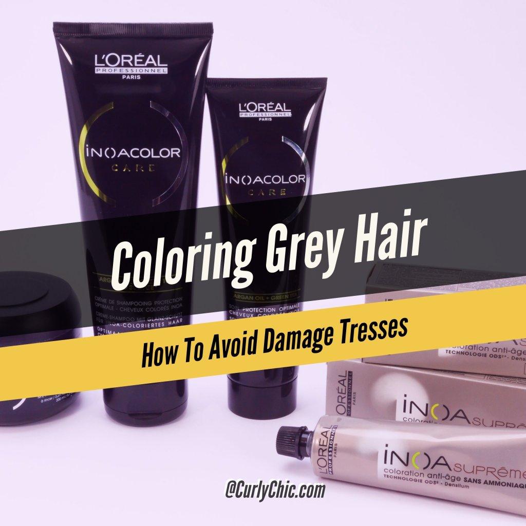 Coloring Gray Hair