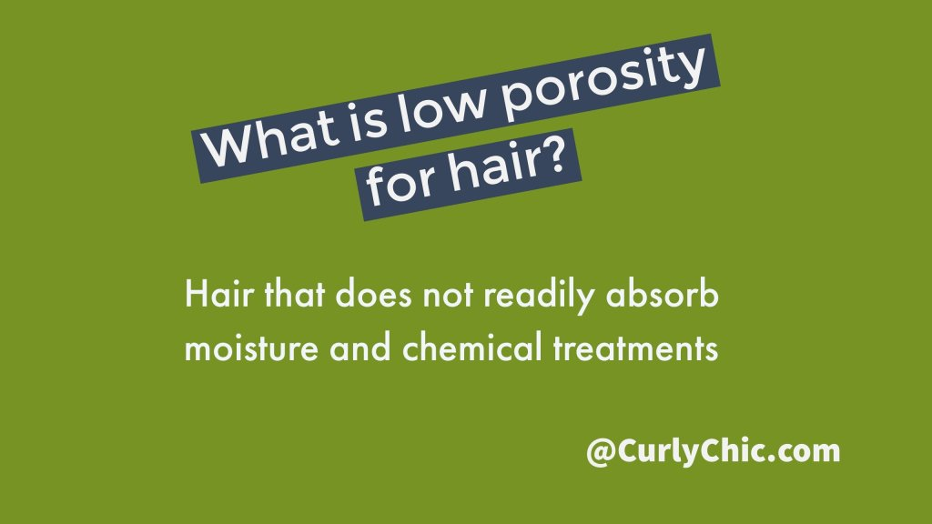 low porosity for hair