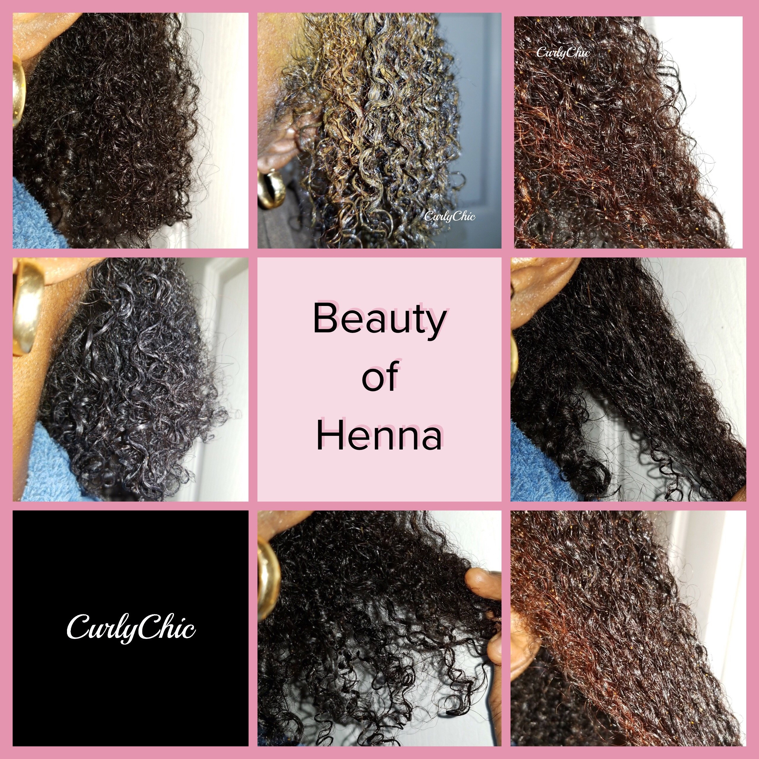 Henna Natural Curly Hair