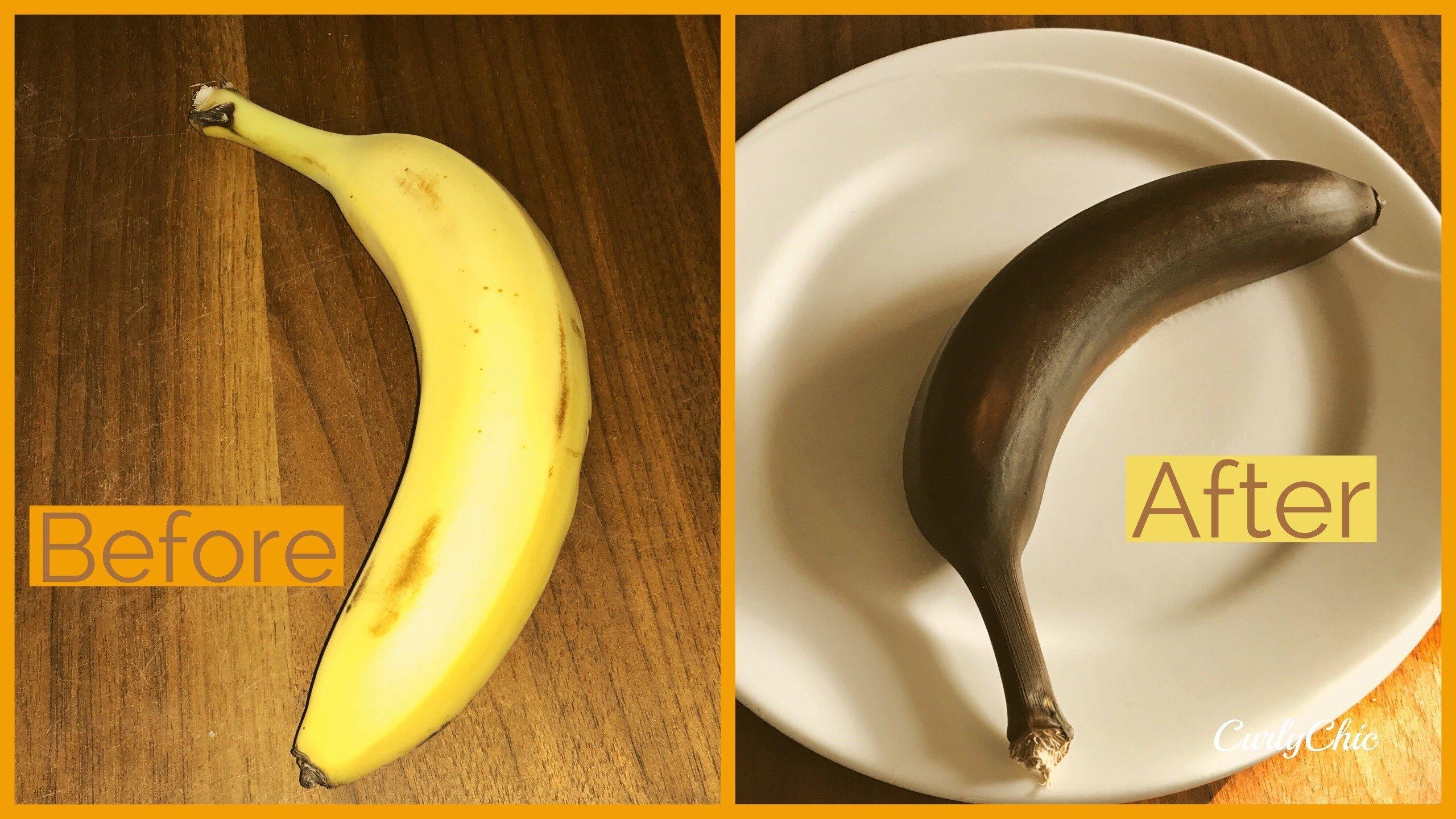 Quickly ripen banans