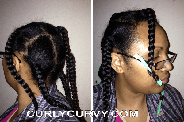 How I Make A Sock Bun Maker An Itchy Scalp And A Curly Hairdo