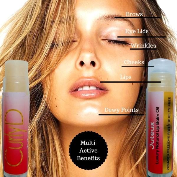 Curly D Juteux Luxury Natural Lip Balm Oil