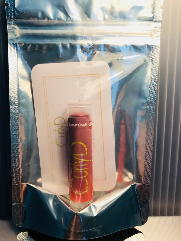 Sunset Crush Luxury Natural Tint Lip Balm Oil front