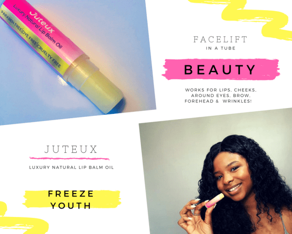 Juteux For More Than Lips Curly D by Curly Davenport