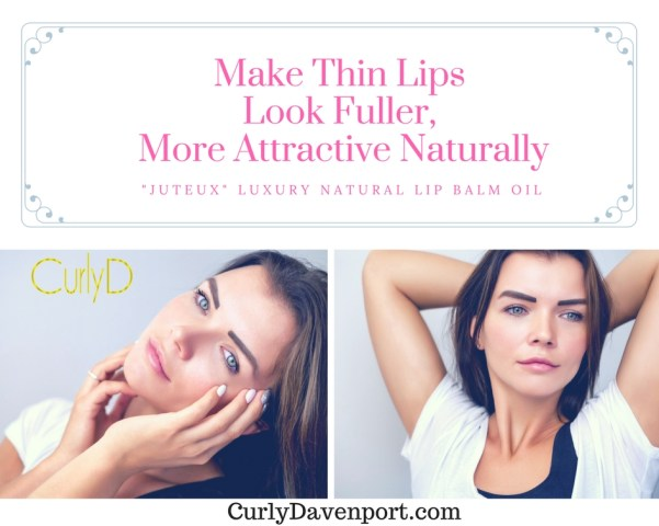 Make Thin Lips Look Fuller, More Attractive