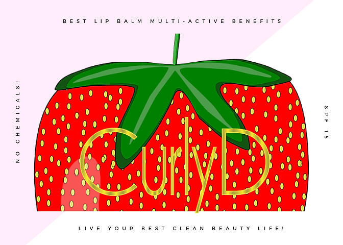 Best Lip Balm Juteux from Curly D by Curly Davenport live your best clean beauty life