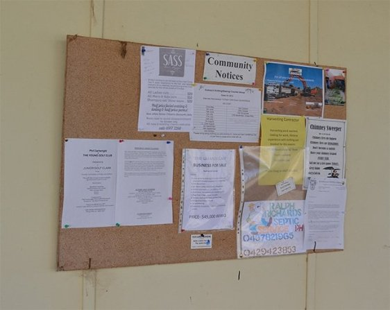 Use the internet to send your flyer to relevant businesses that may have a public bulletin board.