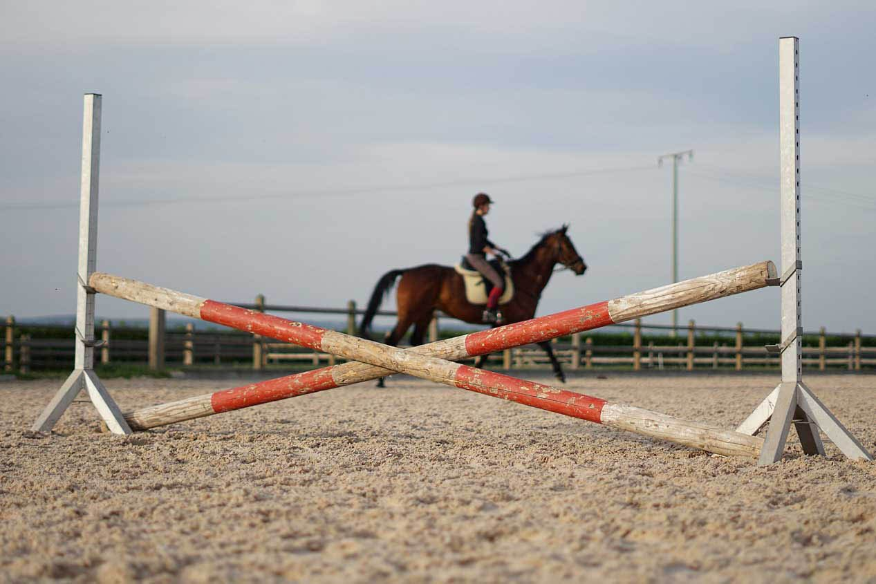 How To Diy Your Own Creative Show Jumping Style Horse Jumps