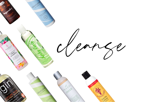 Compilation of cleansing products