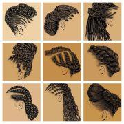 find natural hair artwork