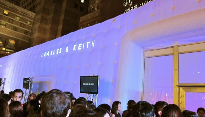 Charles and Keith store opening: fashion show and after party