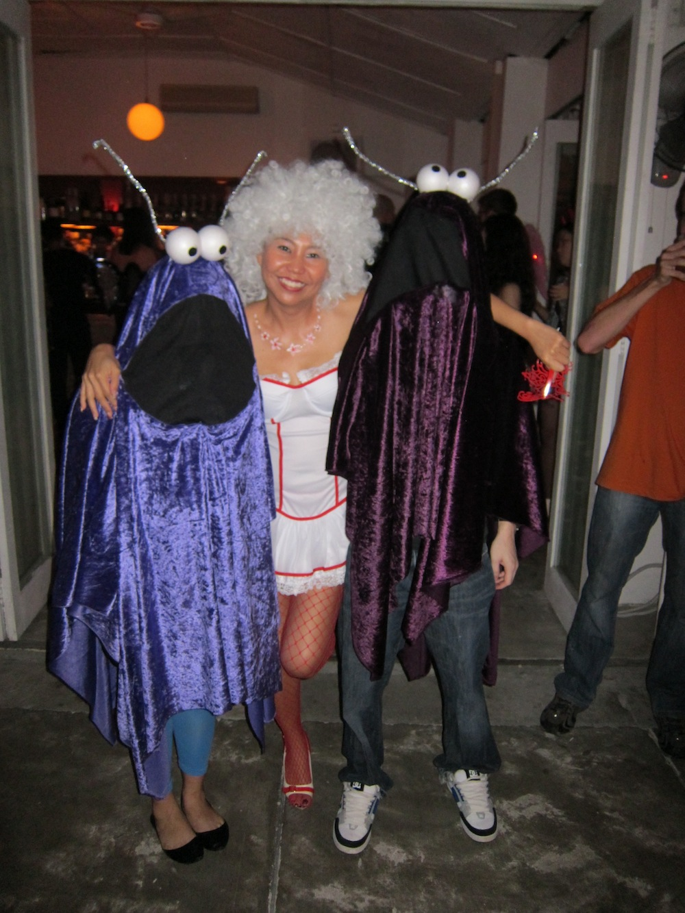dressed up for halloween singapore| curlytraveller.com