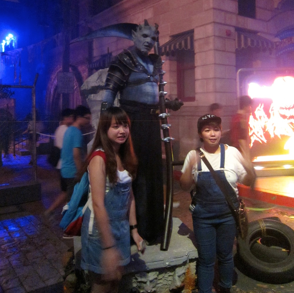 halloween horror nights 4 at universal studios - my review