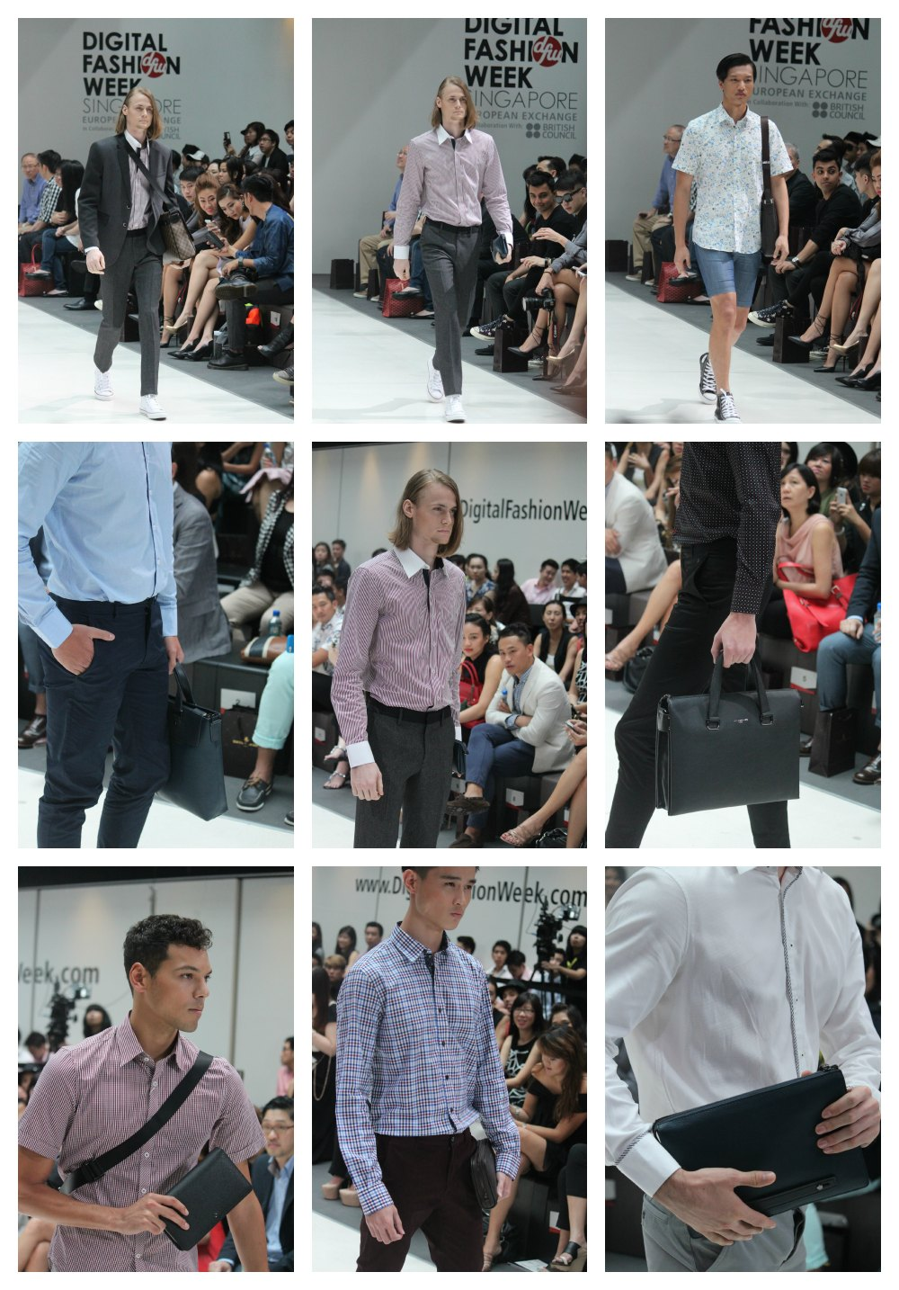 male models with bags  curlytraveller.com
