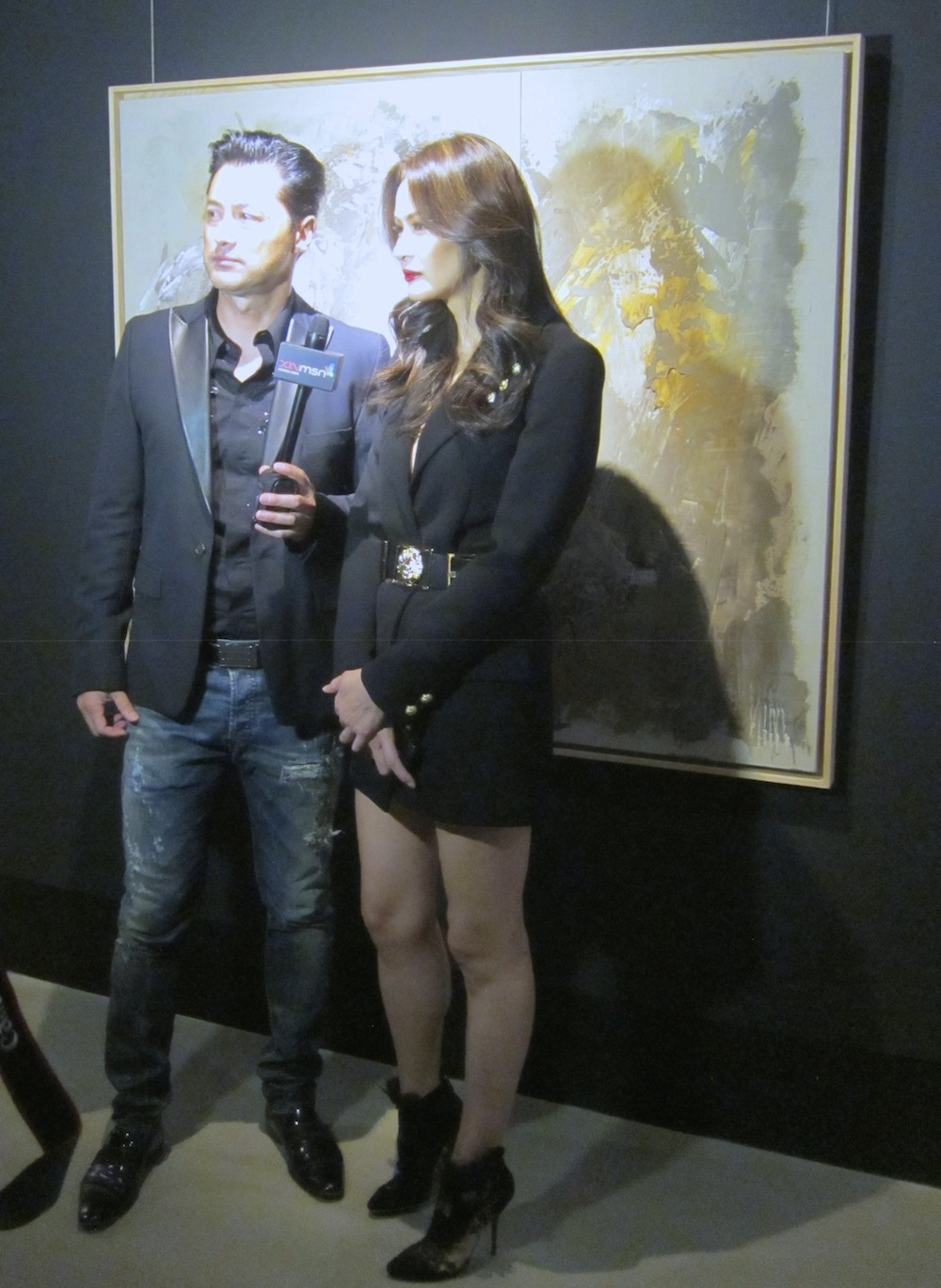 Michael Wong and Janet Ma at MAD Singapore | curlytraveller.com