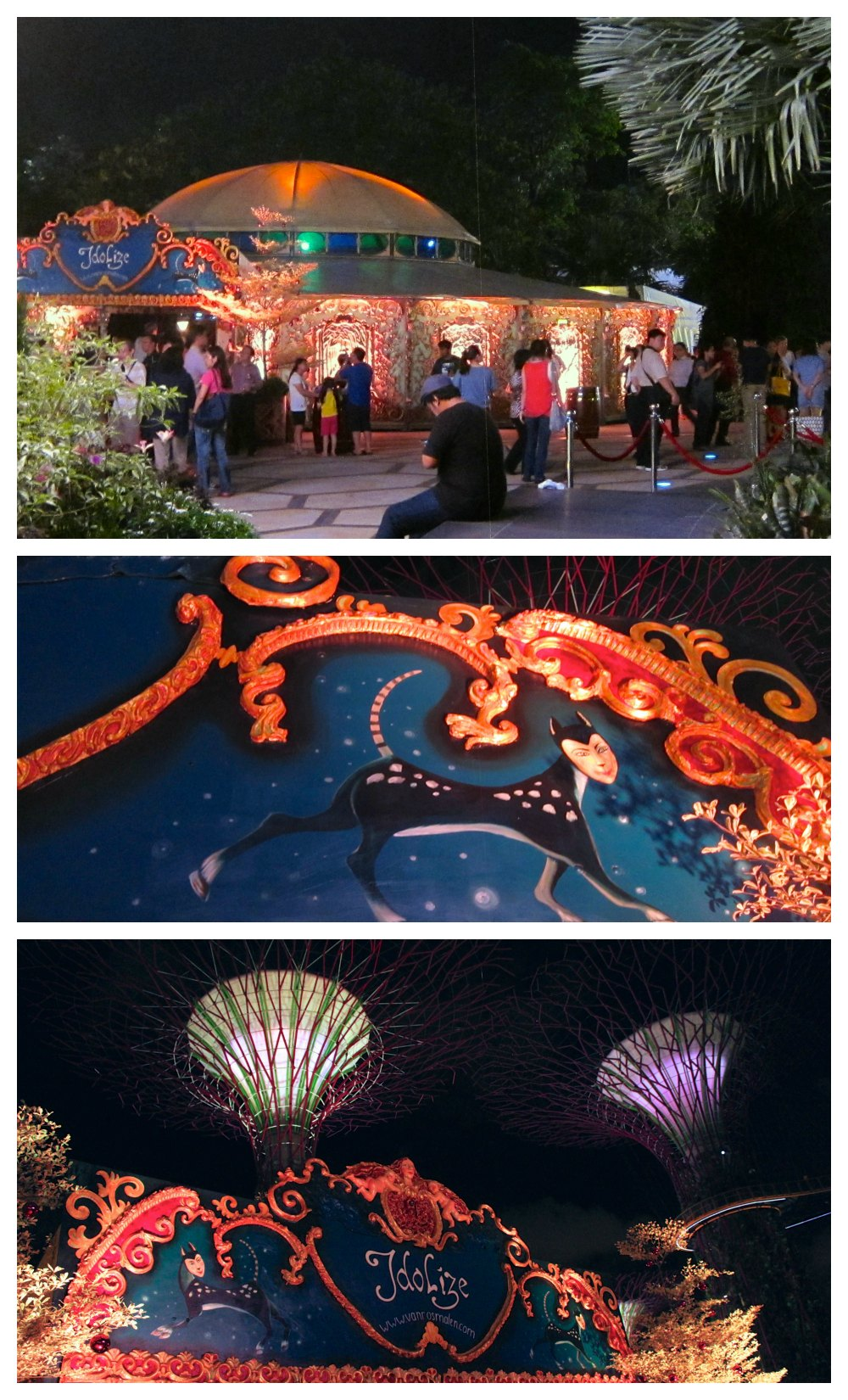 Dutch mirror tent at a Christmas Wonderland | curlytraveller.com
