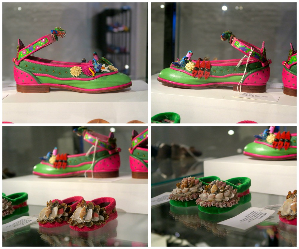 Shoes from the exhibit Recollect Shoes in Sydney|curytraveller.com