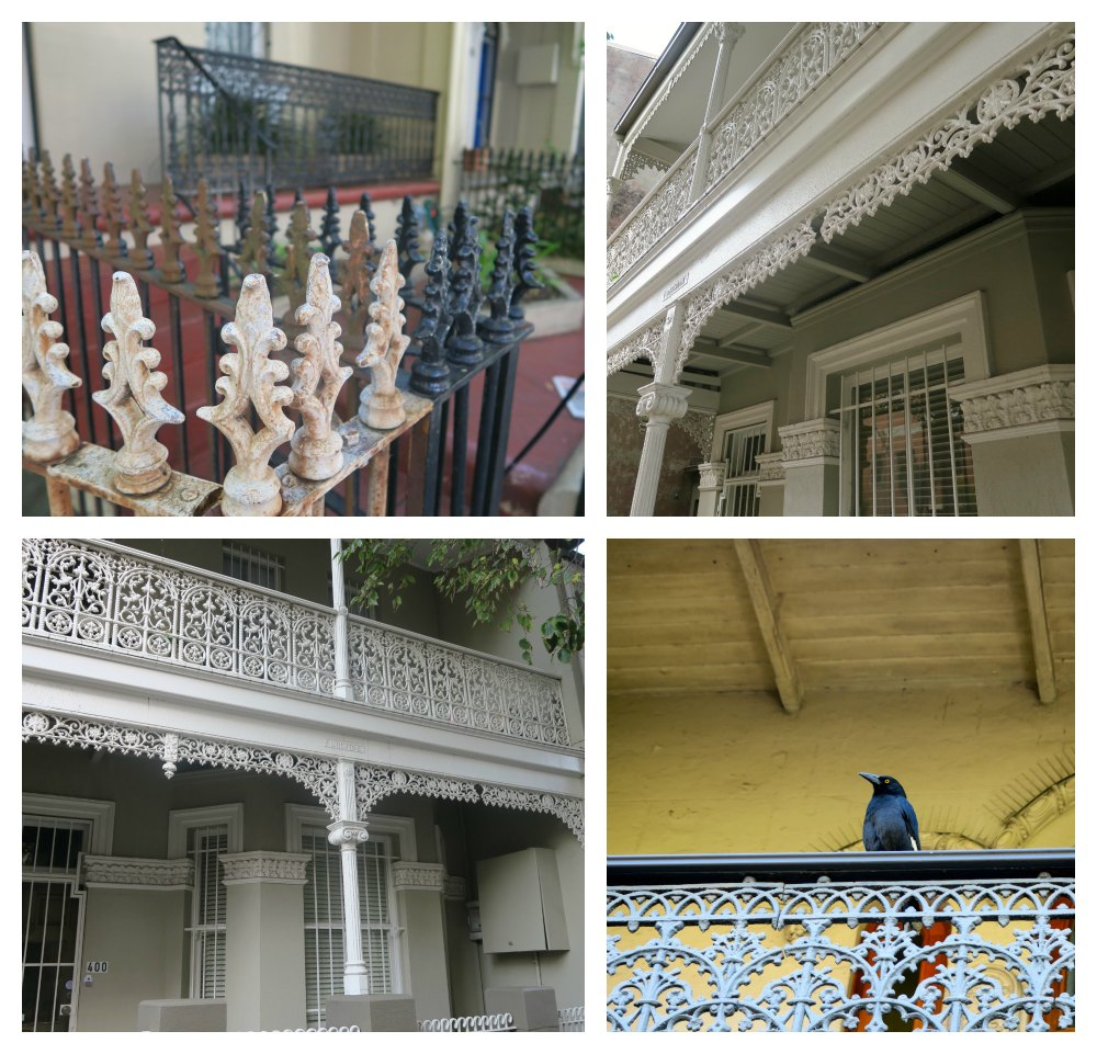 filigree used on terraced houses in sydney |curlytraveller.com