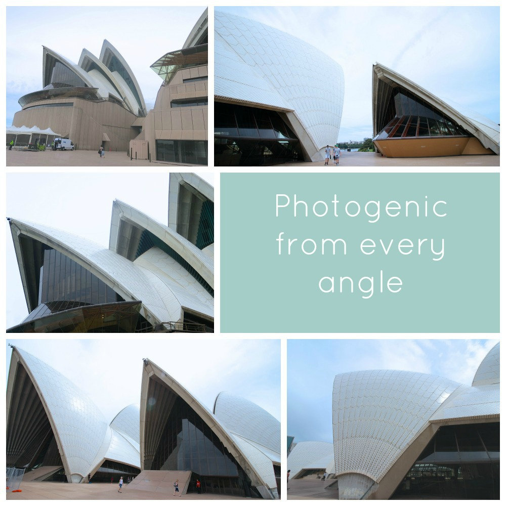 mosaic collage Opera House Sydney |curlytraveller.com