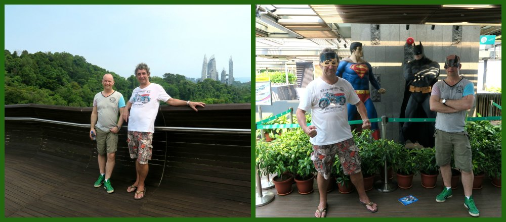 Two friends in Singapore |curlytraveller.com