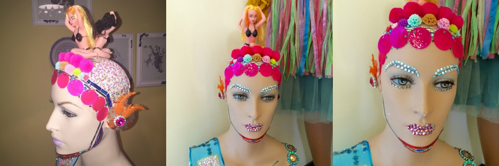 upcycled mannequin head |curlytraveller.com