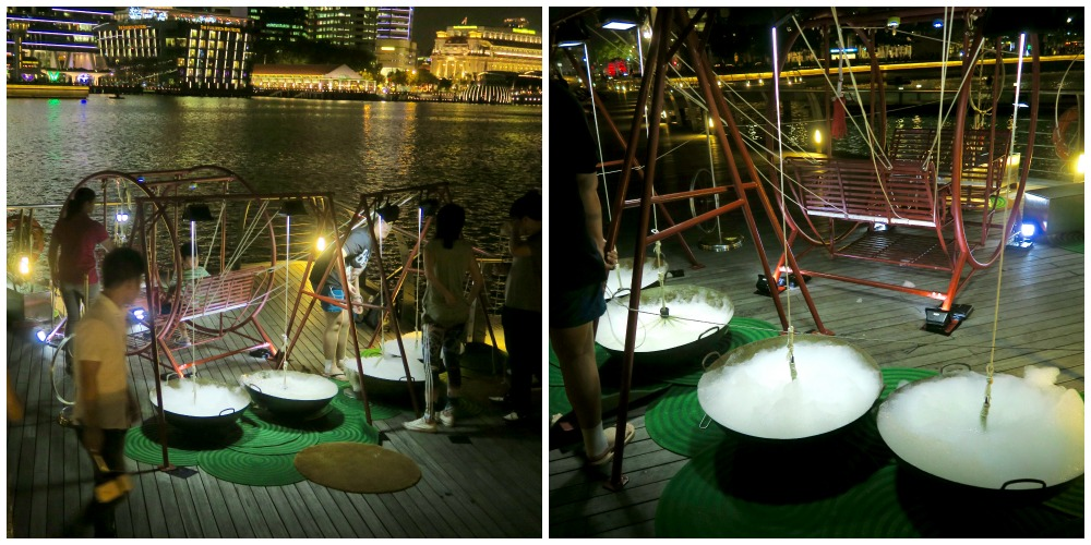 Foam, ropes and movement at light 2016 |curlytraveller.com