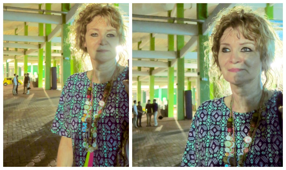 Woman with wet hair |curlytraveller.com