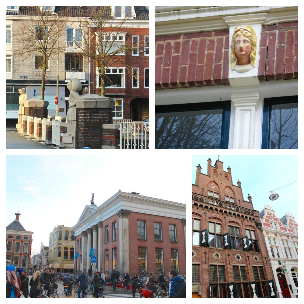 Various examples of architecture in Groningen  curlytraveller.com