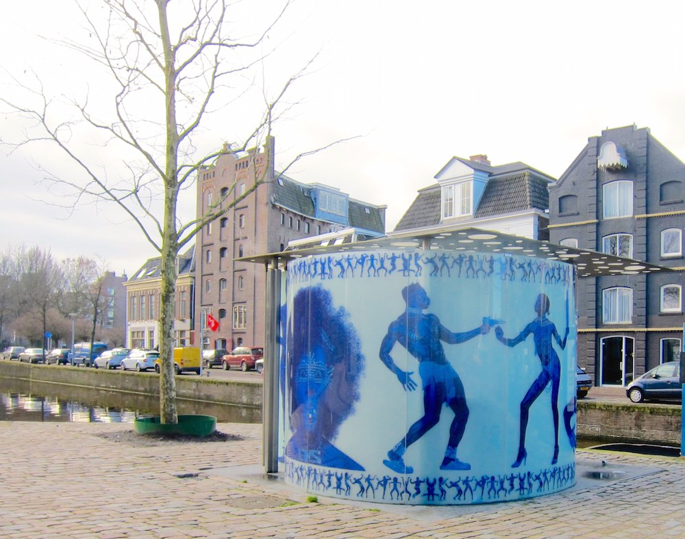 Art urinal by Koolhaas and Olaf in Groningen |curlytraveller.com