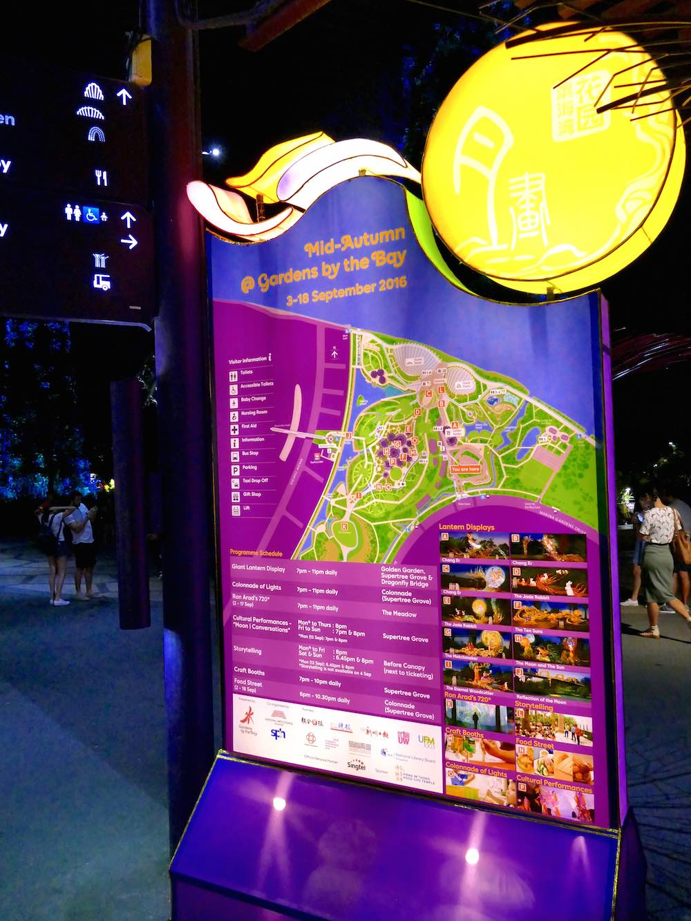 information about mid autumn festival at gardens by the bay curlytravellercom